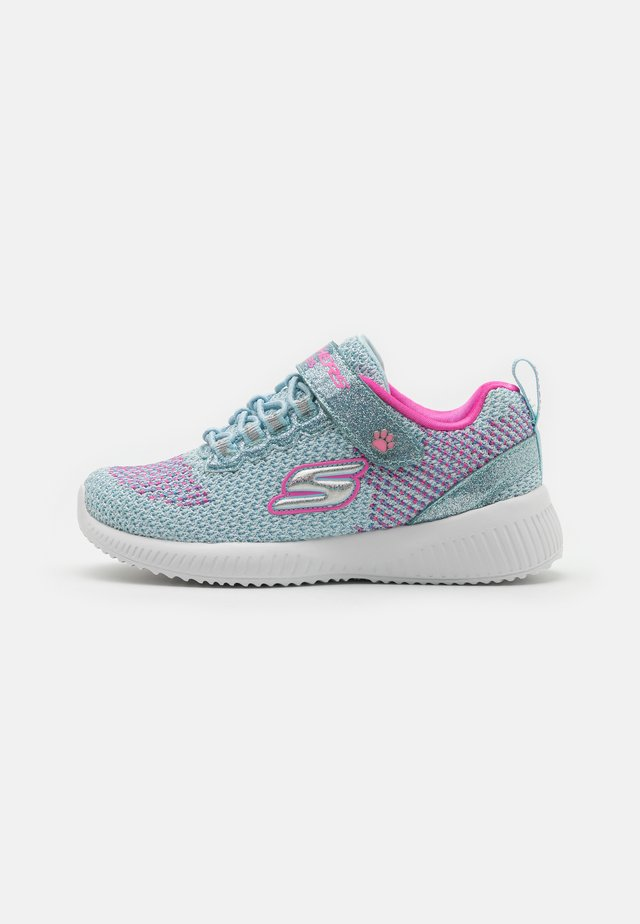 BOBS SQUAD - Sneakers basse - mint/pink