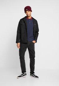Burton Menswear London - POP COLLAR - Piké - navy - 1