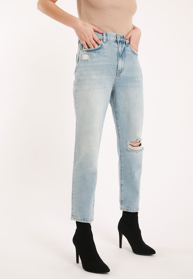 Straight leg jeans - Washed out blue