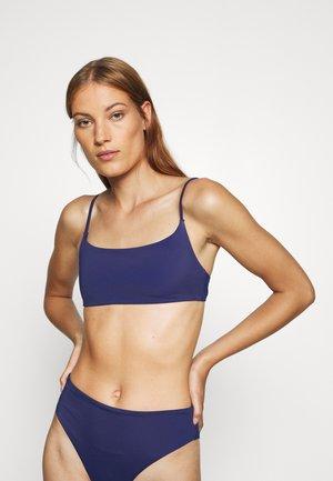 BIKINI TOP - Bikini top - blue dark