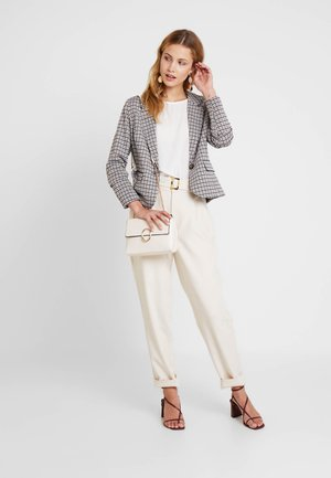 NANNI CHECK - Blazer - black mix as sms