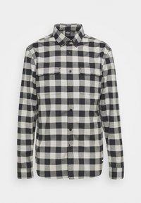 Oakley - CHECKERED RIDGE LONG SLEEVE - Shirt - stone gray - 0
