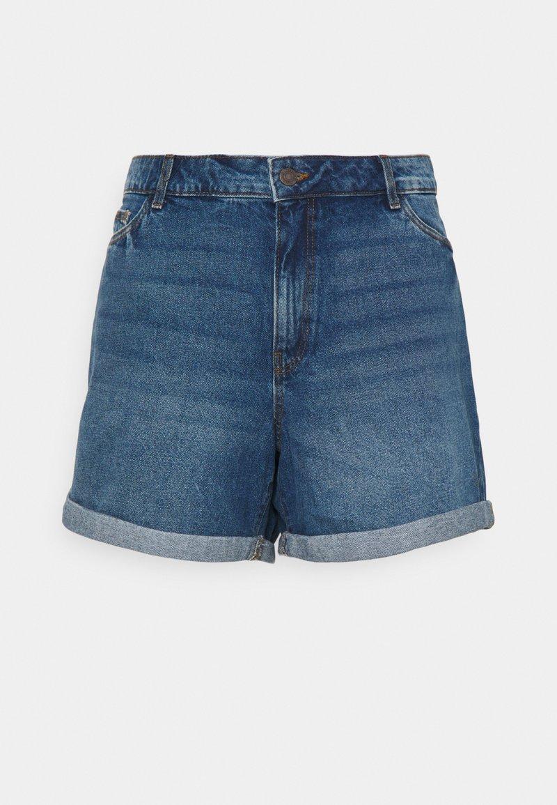 Noisy May Curve - NMSMILEY - Shorts di jeans - medium blue denim