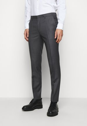 HESTEN - Trousers - medium grey