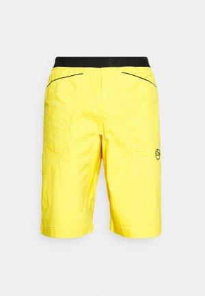 FLATANGER SHORT - Sportovní kraťasy - yellow/black