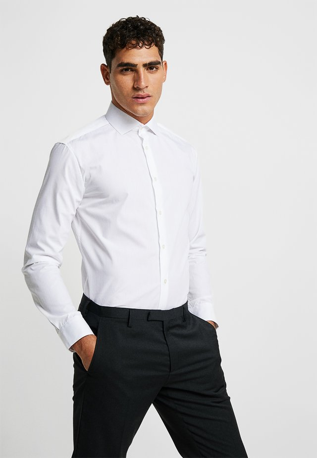 SOLID COLOUR - Formal shirt - white knight