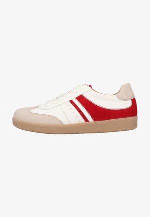 Sneaker low - vanil./weiss/rubin