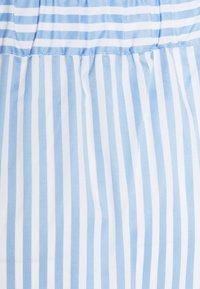 Libertine-Libertine - BOX - Áčková sukně - light blue stripe - 2