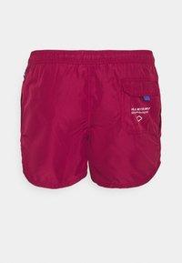 Replay - BEACHWEAR - Swimming shorts - bordeaux - 1