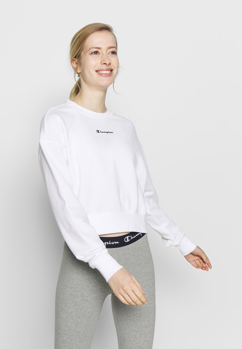 Champion - CREWNECK - Mikina - white