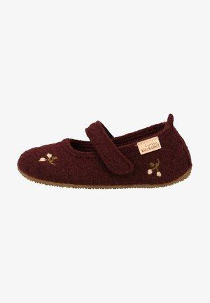 Slippers - merlot