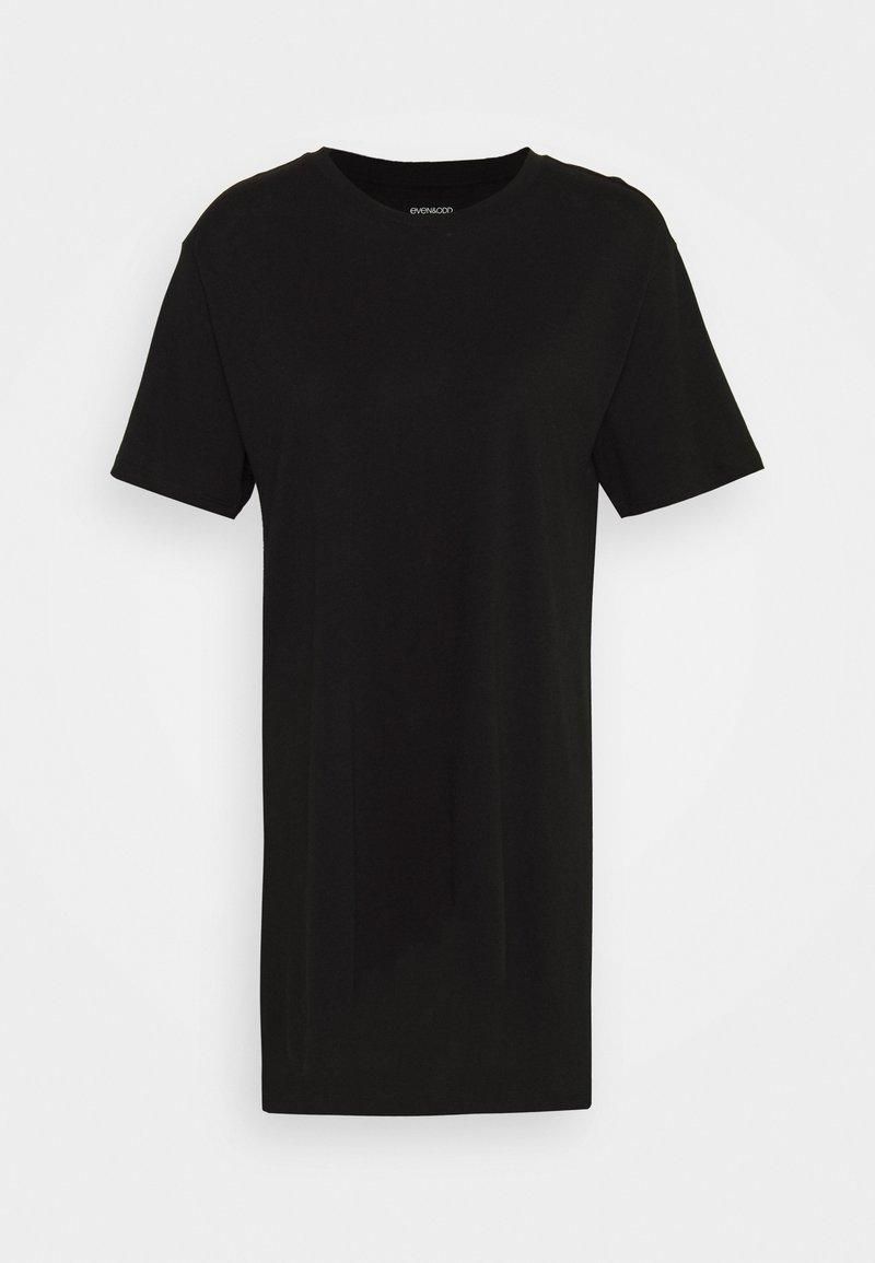 Even&Odd Jerseykleid - black/schwarz 4qg9Yo
