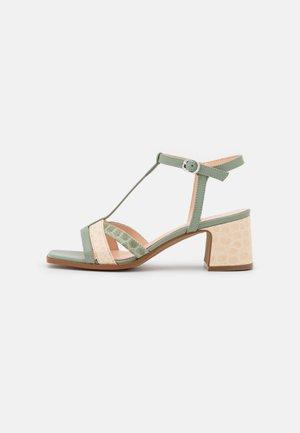 Sandaalit nilkkaremmillä - panna