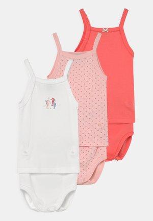 2-IN-1 3 PACK - Underwear set - white/pink