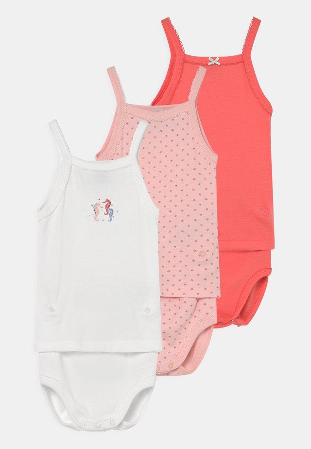2-IN-1 3 PACK - Set de sous-vêtements - white/pink