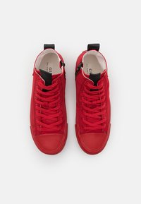 Guess - EDERLE - High-top trainers - red - 3