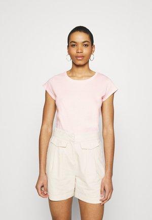 FAVORITE TEASY - Jednoduché triko - light pink