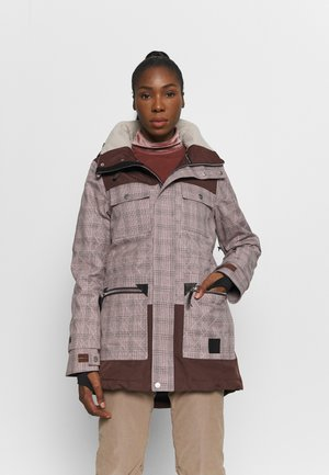 AIDEN JACKET - Chaqueta de snowboard - misty rose