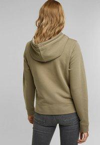 edc by Esprit - Zip-up sweatshirt - khaki - 2