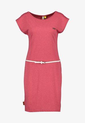 ELLIAK - Day dress - cranberry
