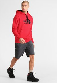 The North Face - DREW PEAK - Mikina s kapucí - red - 1