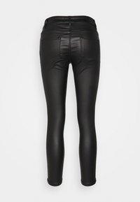 Dorothy Perkins Petite - COATED FRANKIE - Jeans Skinny Fit - black - 1