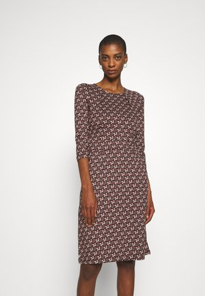 MONA DRESS NOSHI - Day dress - henna red