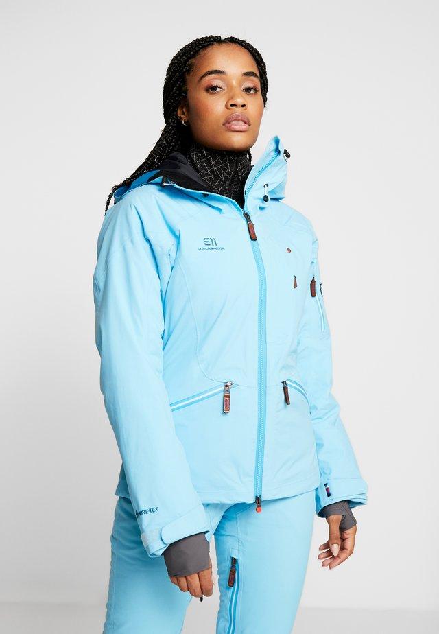 ZERMATT JACKET - Chaqueta de esquí - aqua blue