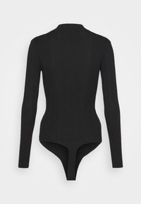Missguided Tall - EXTREME HIGH NECK BODY - Long sleeved top - black - 1