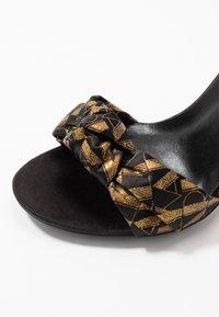 KARL LAGERFELD - MASQUE STUDIO - Sandály na vysokém podpatku - black - 2