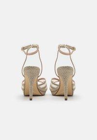 Dune London - MARLAH DI - High heeled sandals - champagne - 3