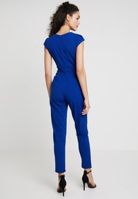 WAL G. - SHORT SLEEVE V NECK - Jumpsuit - blue - 2