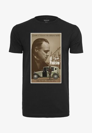 GODFATHER - Print T-shirt - black