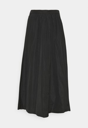 CUORE - Maxi skirt - black