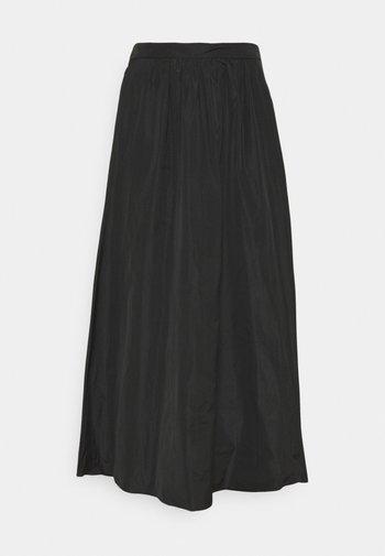 CUORE - Maxi skirt - black