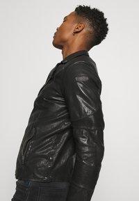 Tigha - ARNO - Leather jacket - black - 3