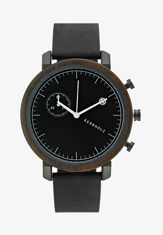 FRANZ - Chronograph watch - sandalwood/midnight black