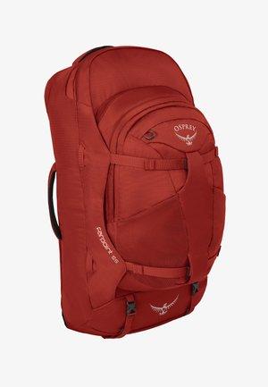 Rucksack - jasper red