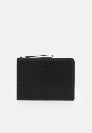 JOHN EMBOSSED UNISEX - Taška na laptop - noir