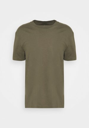 MUSICA CREW - Basic T-shirt - parlour green