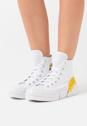 CPX70 - High-top trainers - white/speed yellow/black