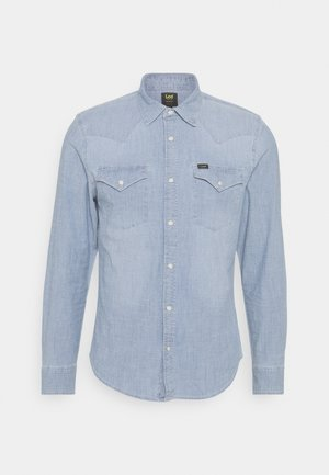 WESTERN - Camisa - skyway blue