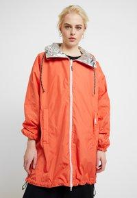 Replay - Short coat - sliver/orange - 3