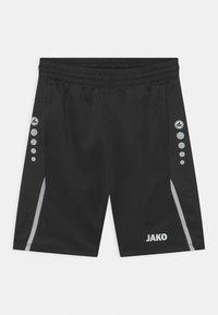JAKO - CHALLENGE UNISEX - Sports shorts - schwarz/weiß - 0