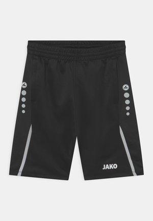 CHALLENGE UNISEX - Sports shorts - schwarz/weiß