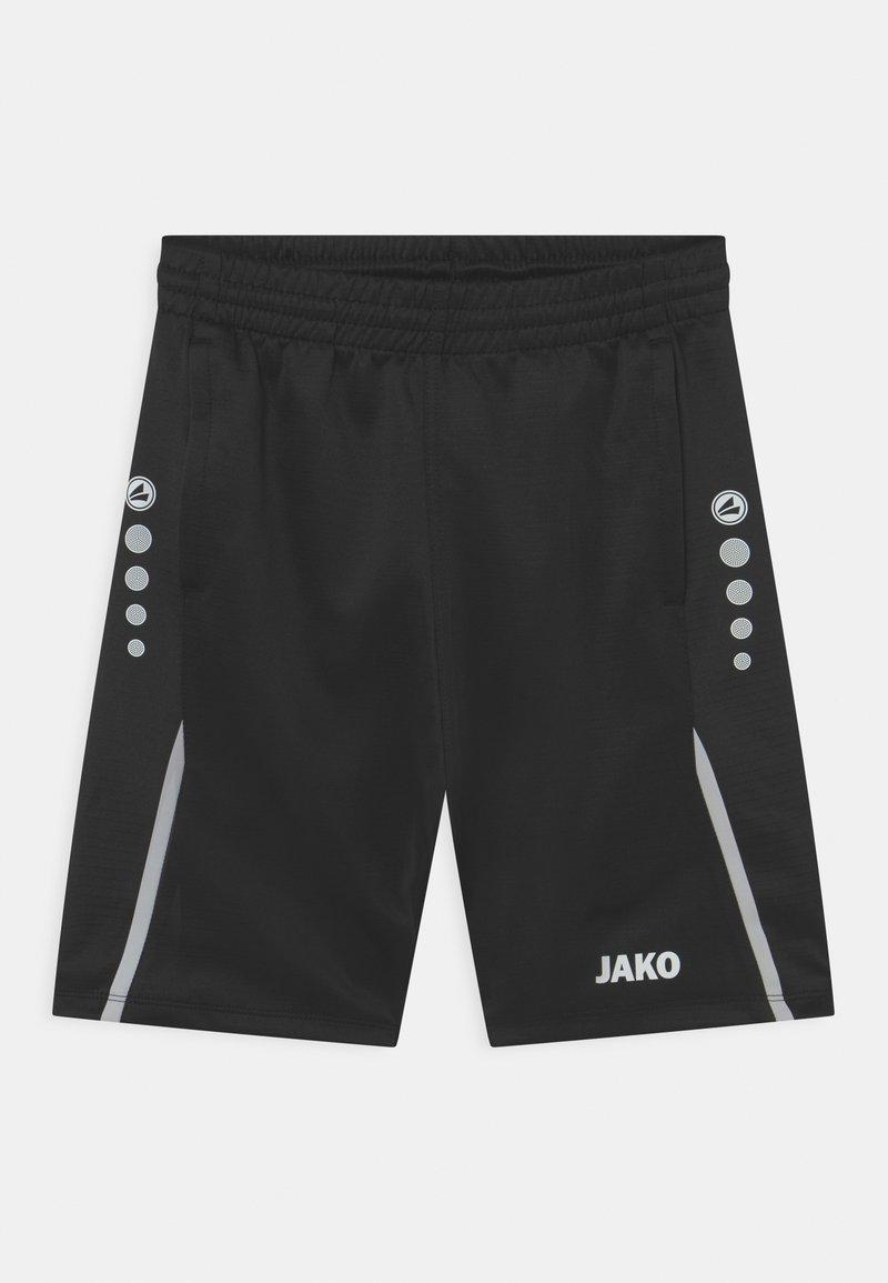 JAKO - CHALLENGE UNISEX - Sports shorts - schwarz/weiß