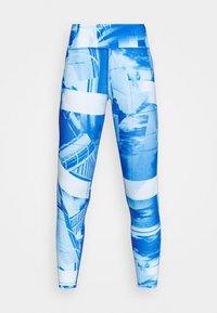 LUX BOLD FLAT ON BACK - Medias - chalk blue