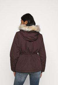 Vero Moda Petite - VMAGNESBEA - Light jacket - chocolate plum - 2