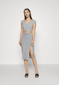 4th & Reckless - JETT DRESS - Vestido de tubo - grey - 0