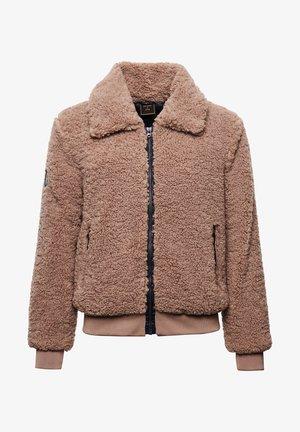 CULT STUDIOS STORM - Fleece jacket - taupe
